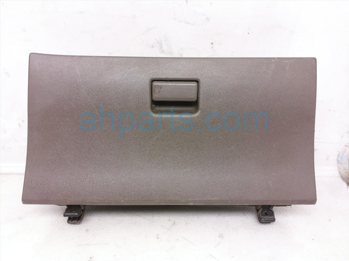 1998 Toyota T100 Glove Compartment Box Tan, Scratches 55550 34011 B2 Replacement
