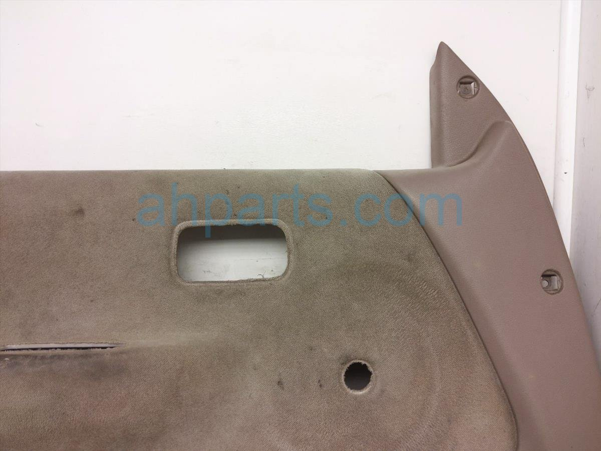 1998 Toyota T100 Front / Liner Driver Door Panel Trim Tan, Some Wear 67620 34150 B0 Replacement