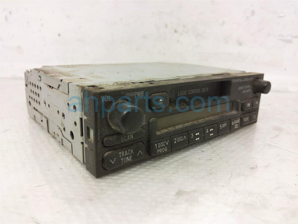 1998 Toyota T100 Am/fm/cassette Radio 86120 04090 Replacement