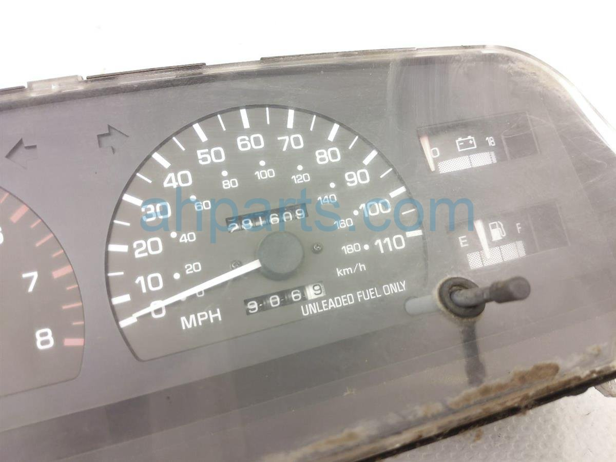 1998 Toyota T100 Instrument Gauge Mt V6 Speedometer Cluster 291,609 83110 0W111 Replacement