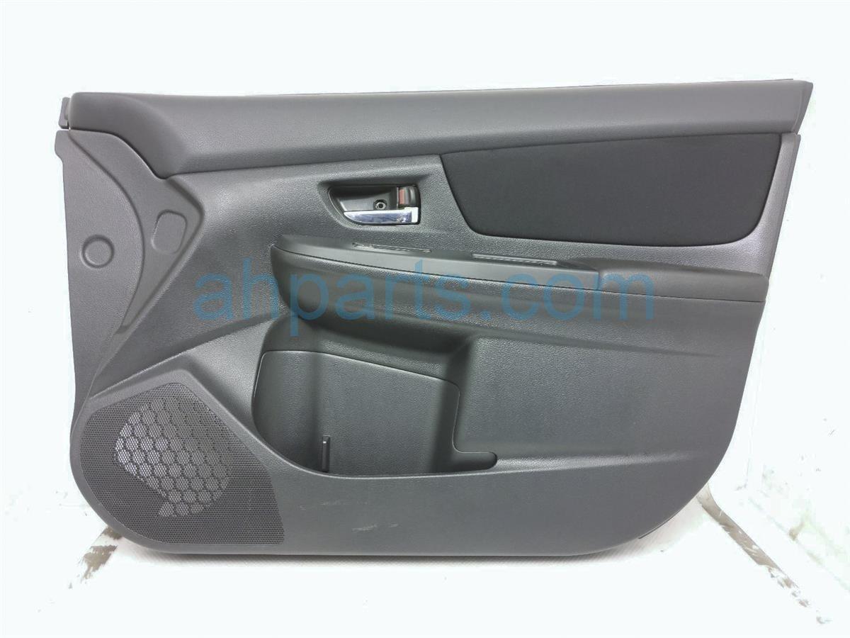 2014 Subaru Xv Crosstrek Front Passenger Door Panel (trim Liner)   Black 94212FJ100VH Replacement