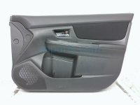 $110 Subaru FR/R DOOR PANEL (TRIM LINER) - BLACK