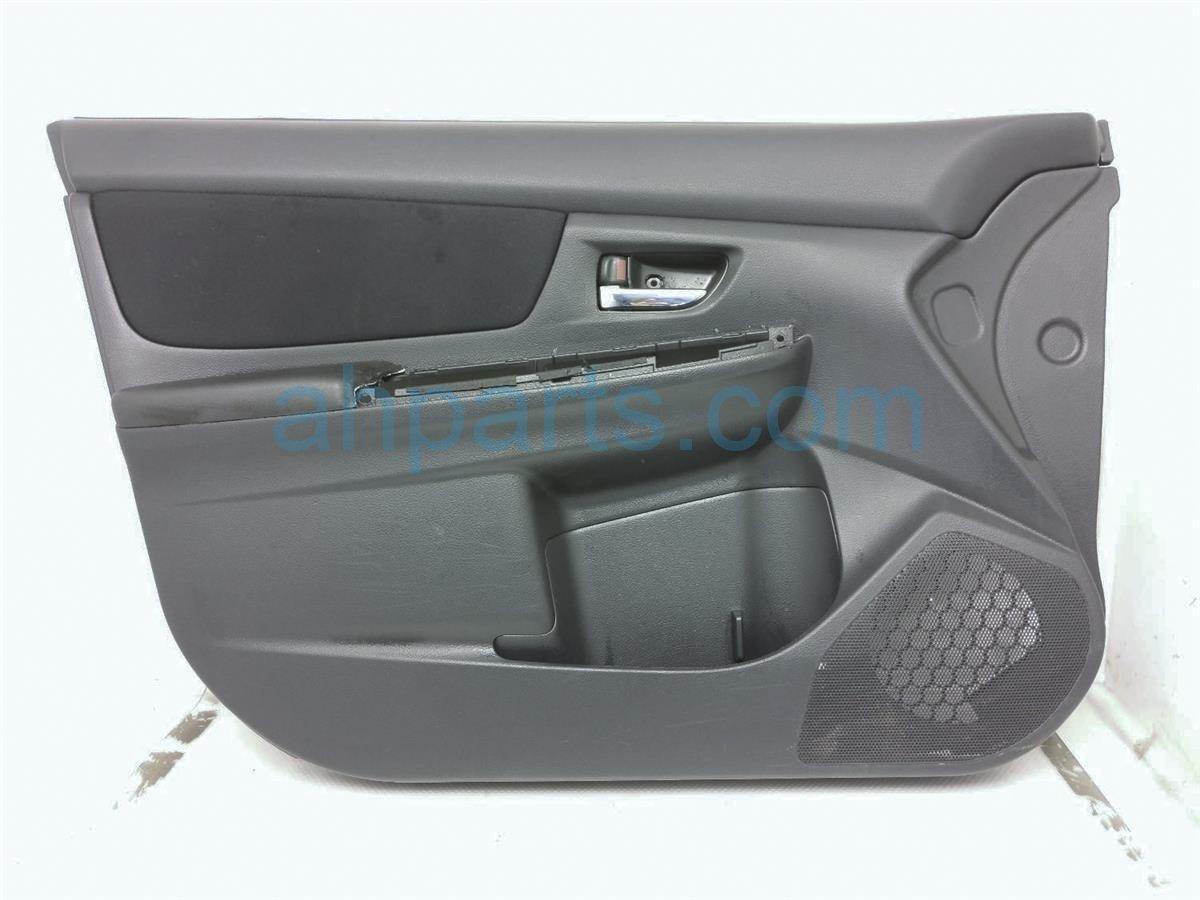 2014 Subaru Xv Crosstrek Trim / Liner Front Driver Door Panel Blk, No Window Swtch 94212FJ110VH Replacement