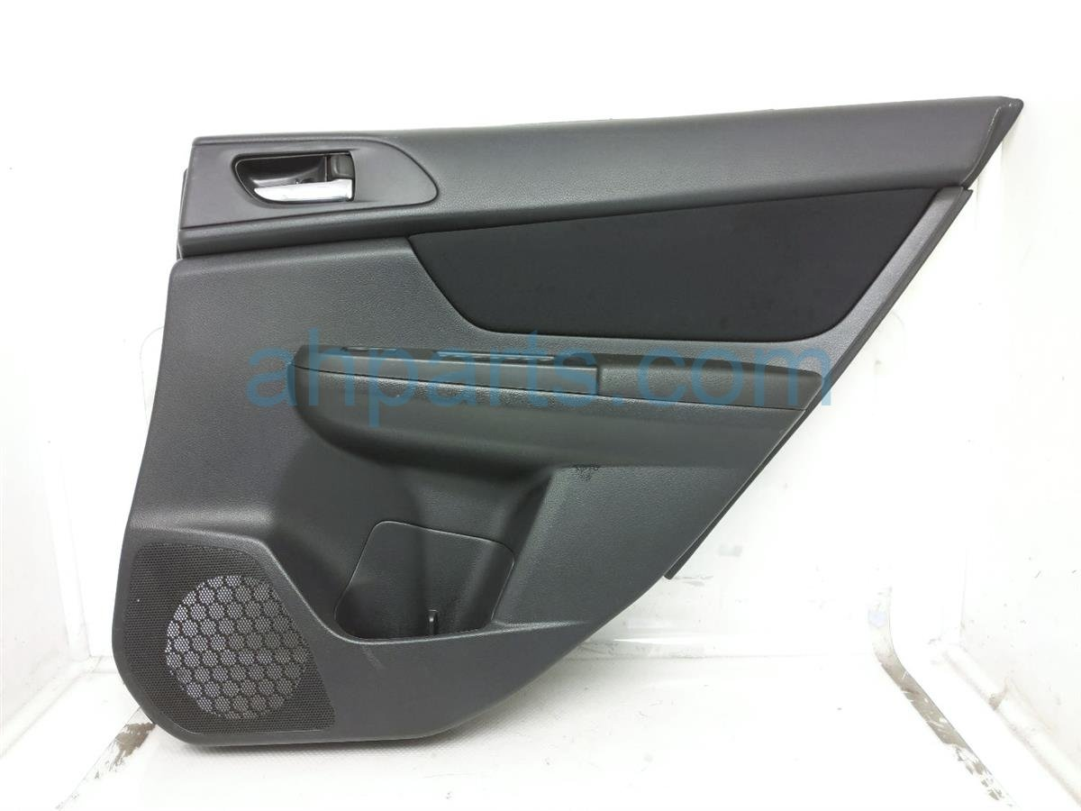 2014 Subaru Xv Crosstrek Rear Passenger Door Panel (trim Liner)   Black 94222FJ101VH Replacement