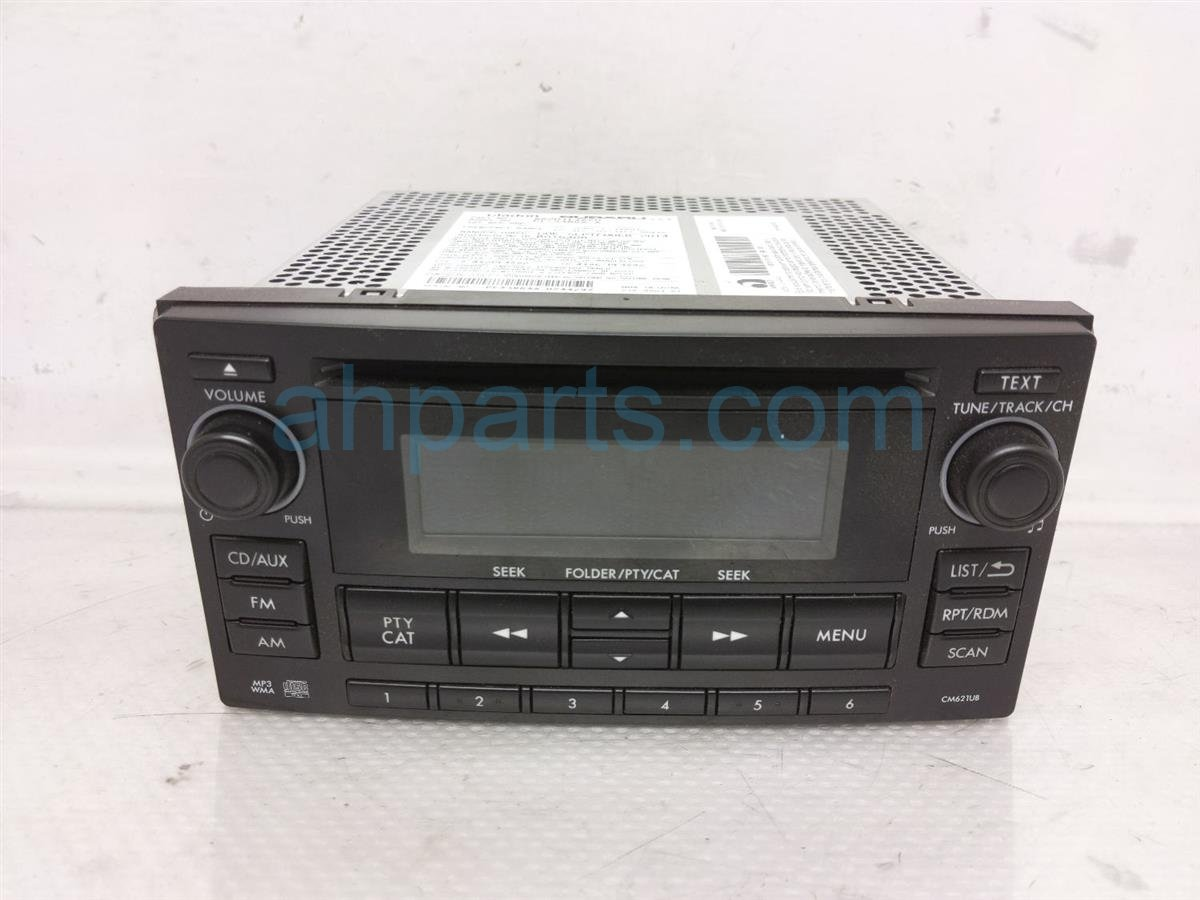 2014 Subaru Xv Crosstrek Am/fm/cd Radio   Cm621ub 86201FJ620 Replacement