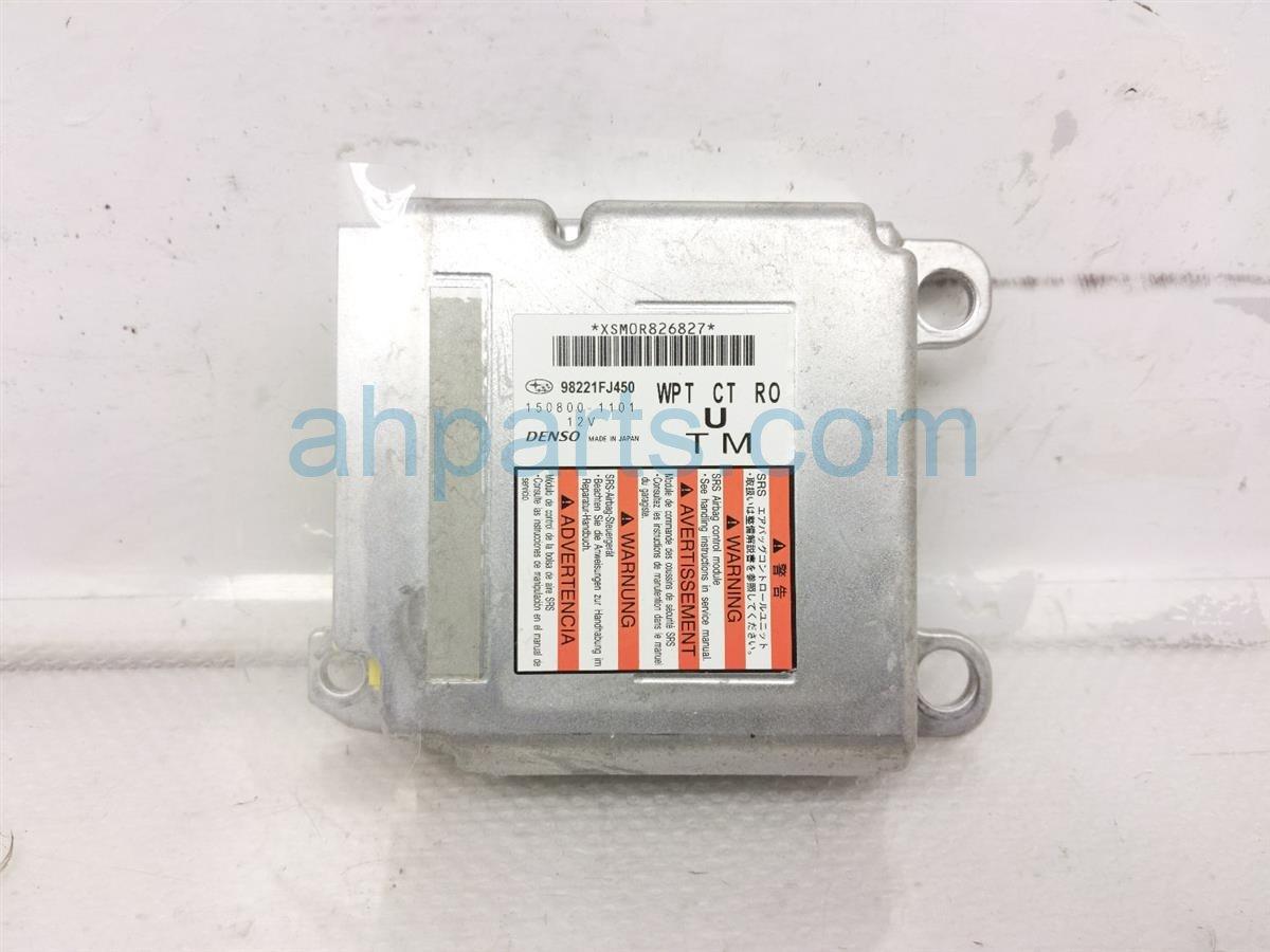 2014 Subaru Xv Crosstrek Srs Airbag Computer Module   Blown 98221FJ450 Replacement
