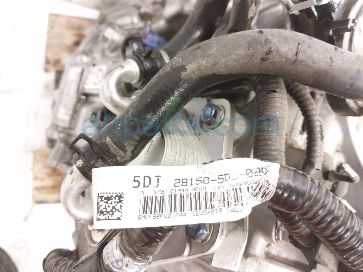 2016 Honda Civic At Transmission   Miles=   20031 5DJ 010 Replacement