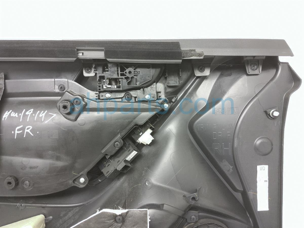 2017 Subaru Forester Front Passenger Door Panel (trim Liner)   Black 94212SG440VI Replacement