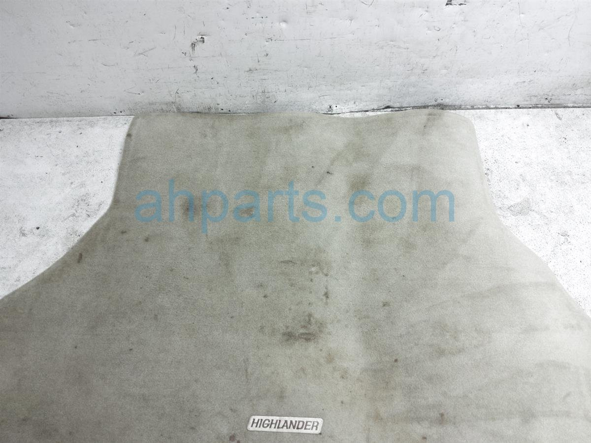 2007 Toyota Highlander Cargo Floor Carpet   Tan PT548 48065 10 Replacement