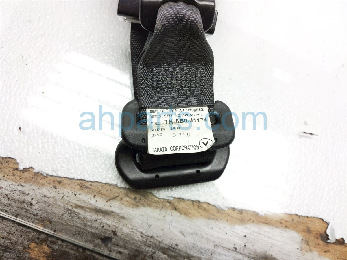 2005 Acura RSX Rear Passenger Seat Belt   Black 04824 S6M A02ZA Replacement