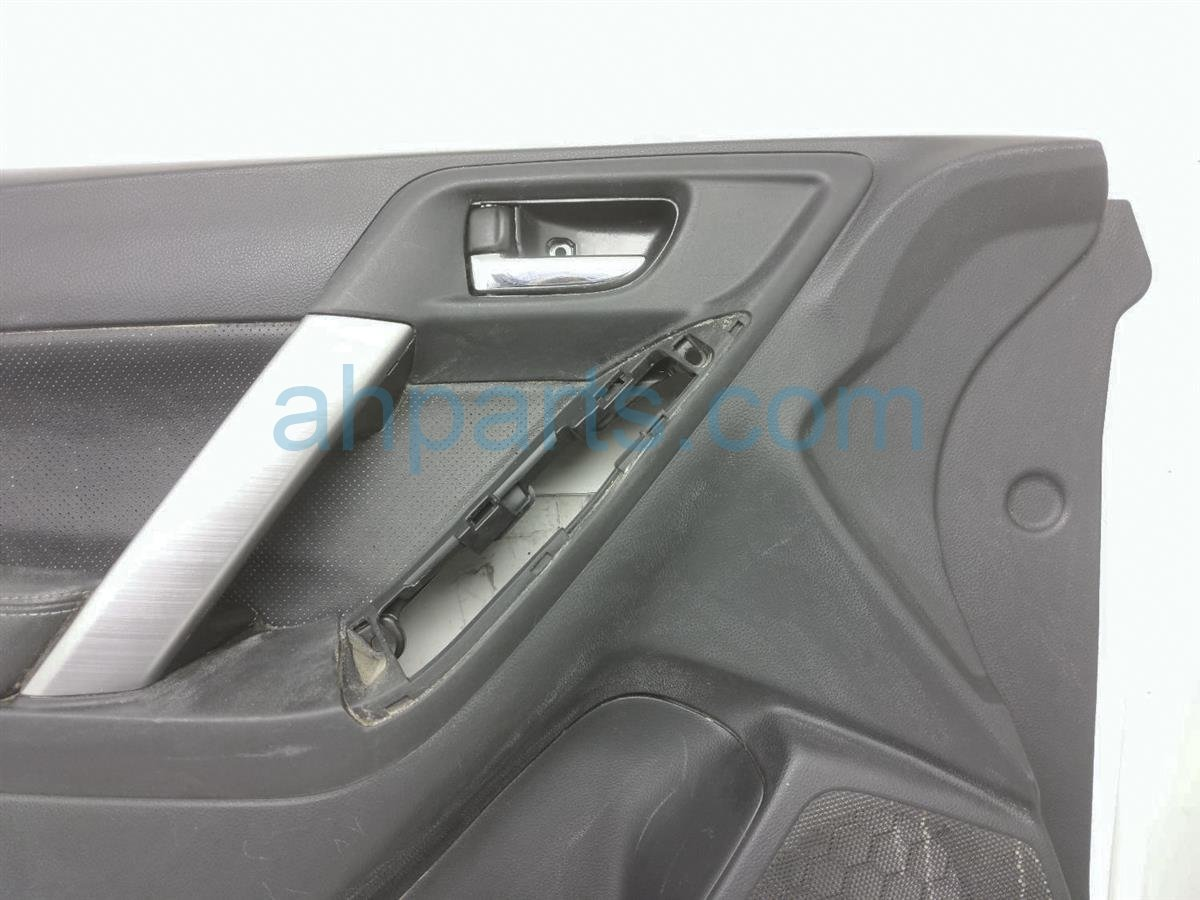 2017 Subaru Forester Liner Front Driver Door Trim Panel   Black 94212SG570VI Replacement