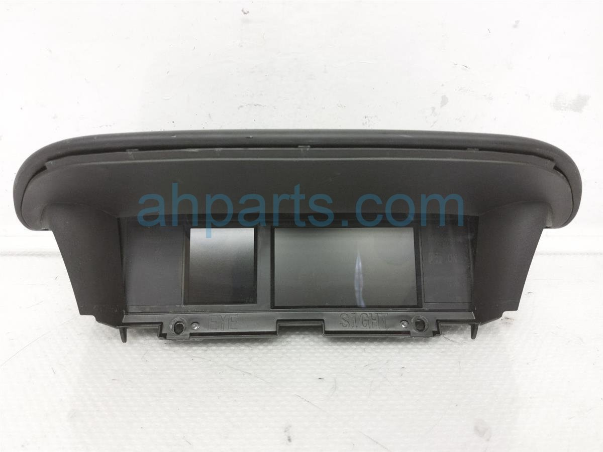 2017 Subaru Forester Multi Display Assy 85261 SG630 Replacement