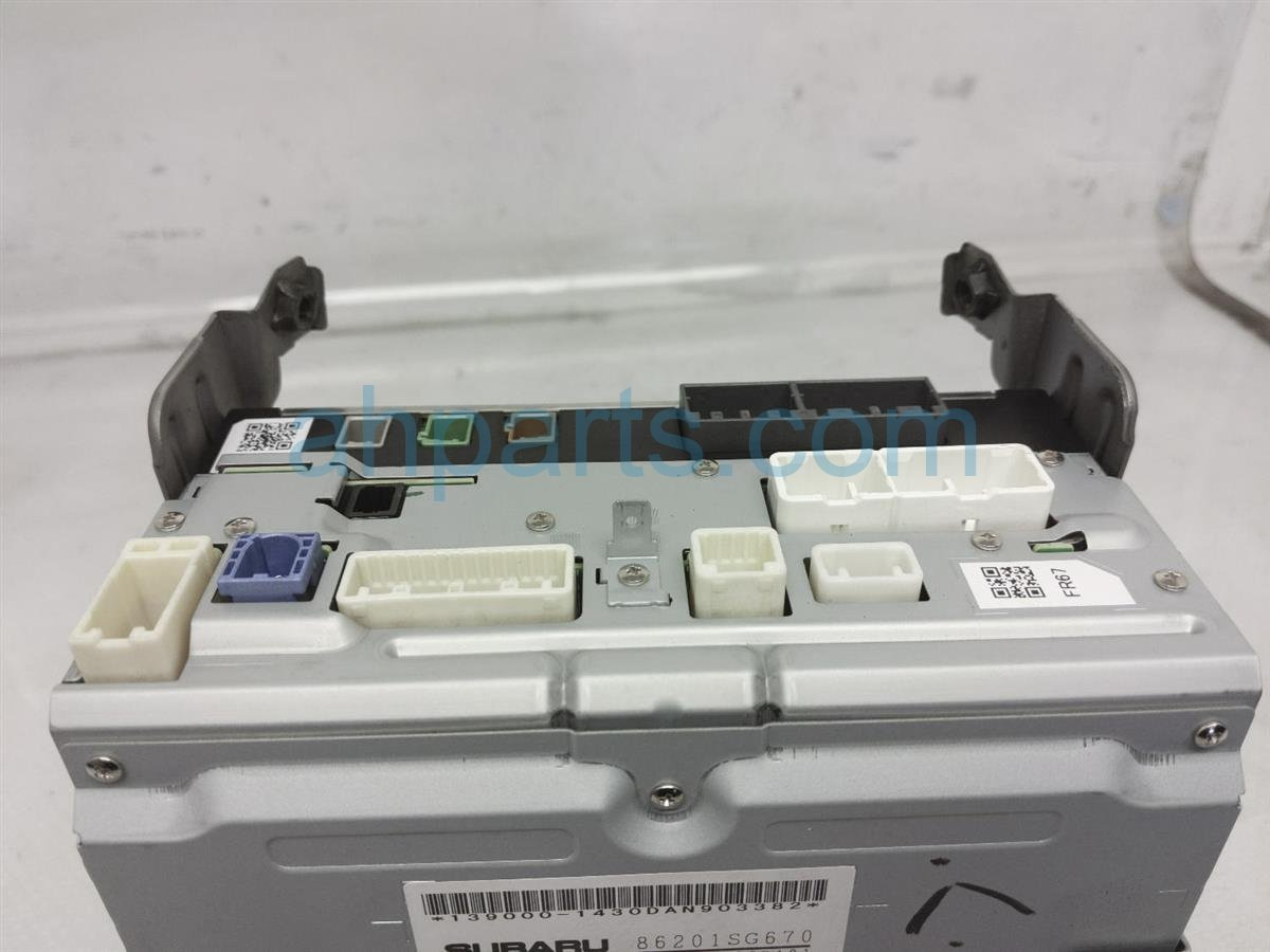 2017 Subaru Forester Stereo Radio Assy 86201SG671 Replacement