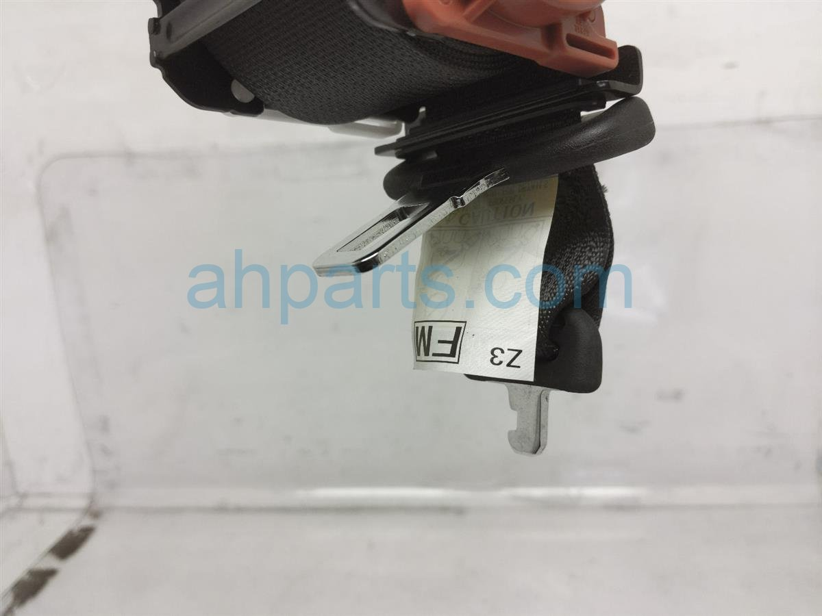 2017 Subaru Forester Rear Rr/mid Seat Belts   Black 64680SG021VH Replacement