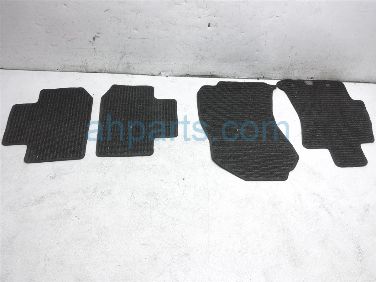 2017 Subaru Forester Set Of 4 Black Floor Mats J501SSG320 Replacement