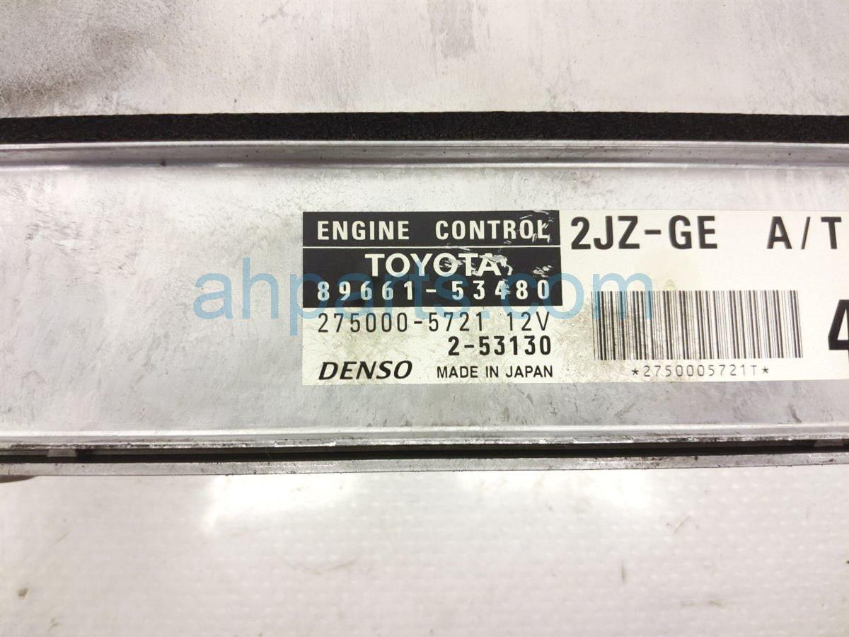 2003 Lexus Is300 Ecu Control Module / Engine Computer 89661 53530 Replacement