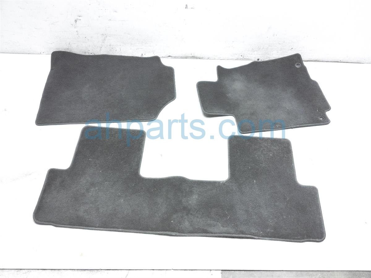 2015 Honda CR V Set Of 3 Floor Mats   Black 83600 T0G A02ZC Replacement