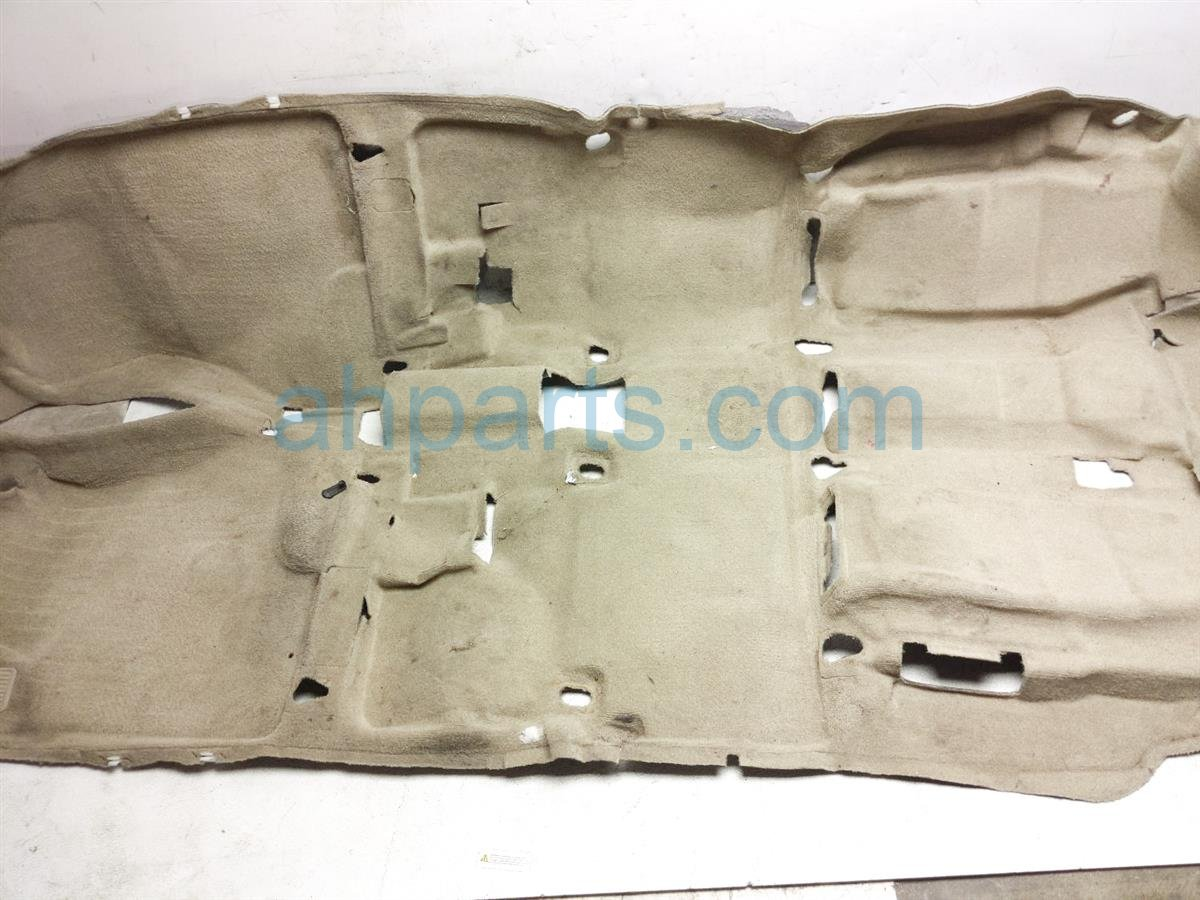 2007 Toyota Highlander Front / Ground Floor Carpet   Tan 58510 48161 A0 Replacement