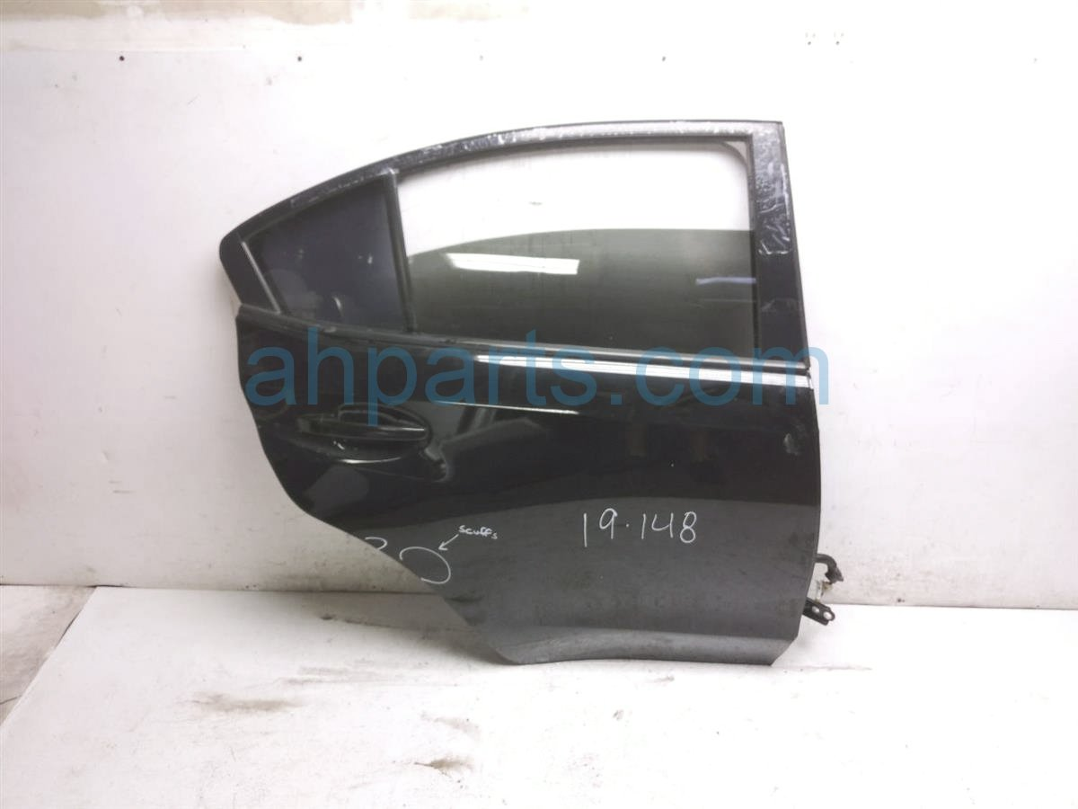 2015 Subaru WRX Rear Passenger Door   Black 60409VA0209P Replacement