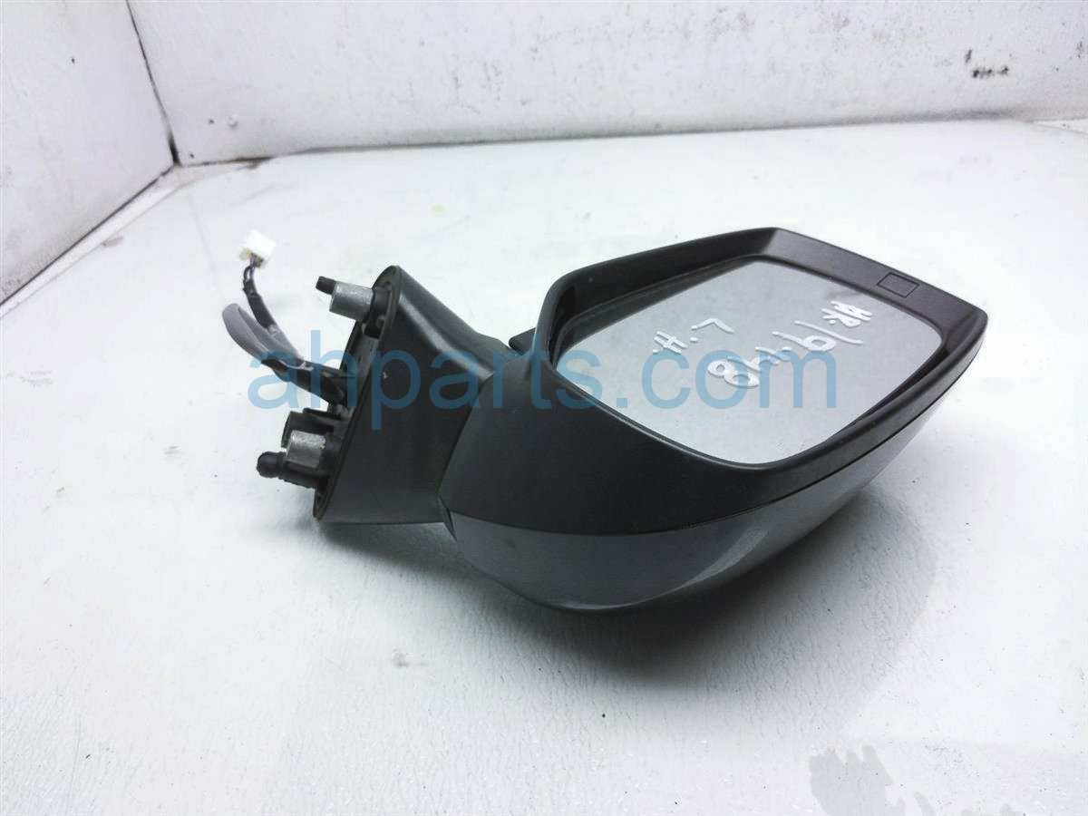 2015 Subaru WRX Driver Side Rear View Mirror   Black 91036VA072 Replacement