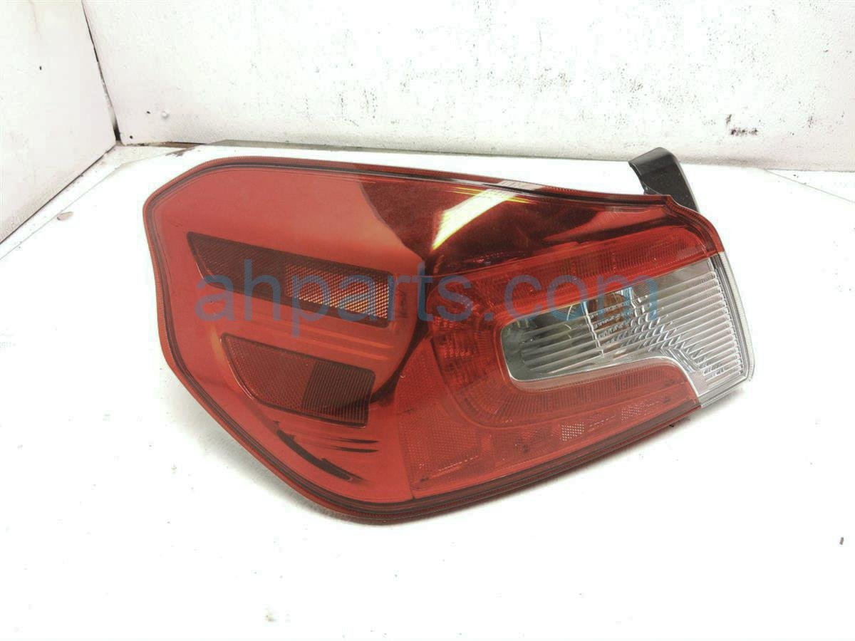 2015 Subaru WRX Rear Driver Tail Lamp   Light On Body   84912VA030 Replacement