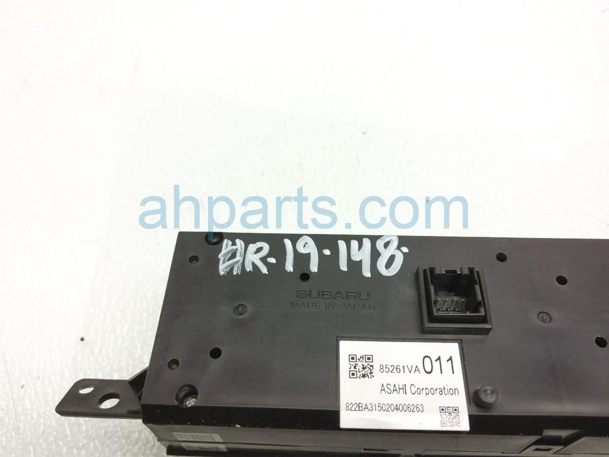 2015 Subaru WRX Display Screen (non Navi)   85261VA012 Replacement