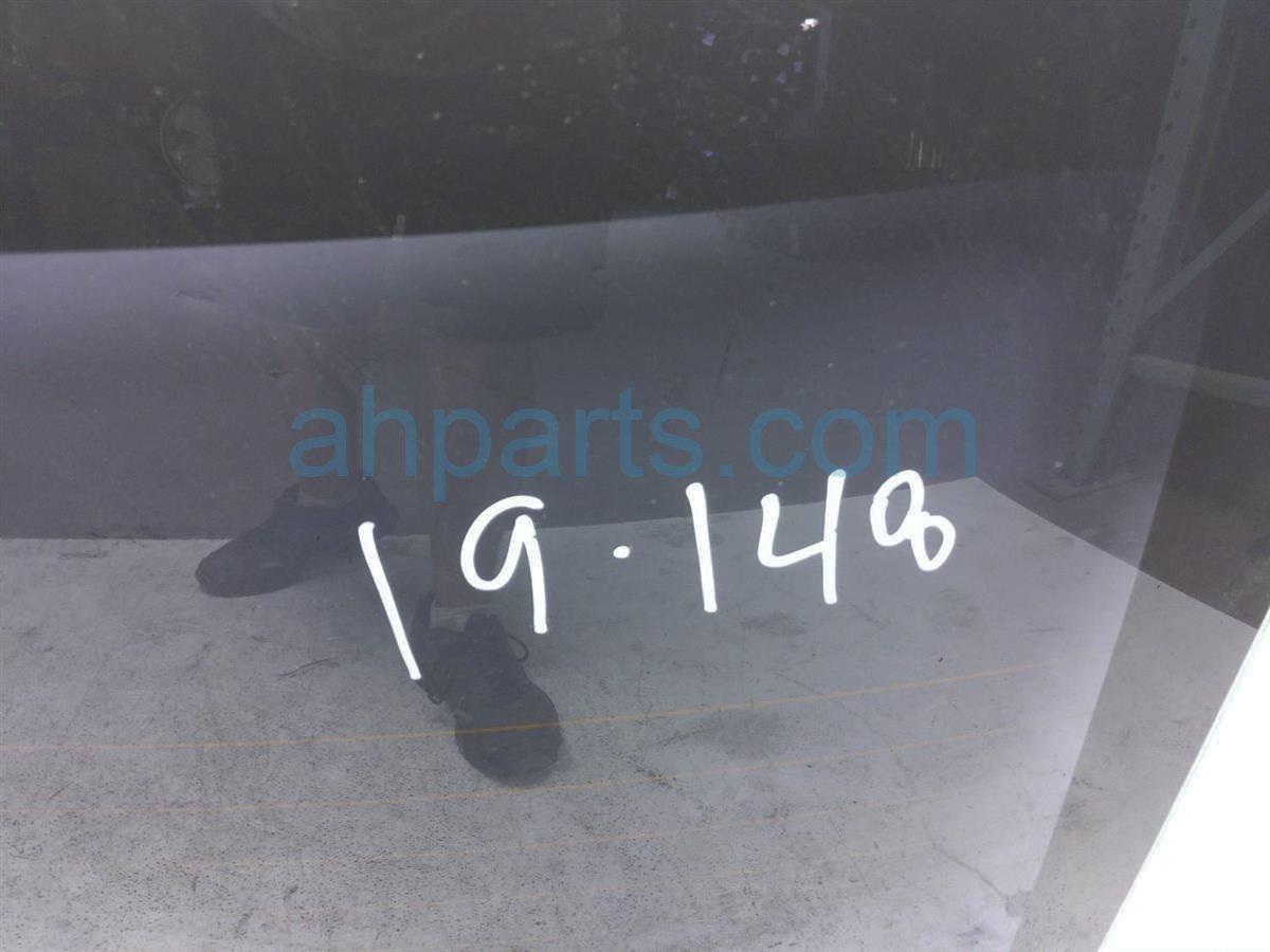 2015 Subaru WRX Rear Back Glass/windshield   65109FJ001 Replacement