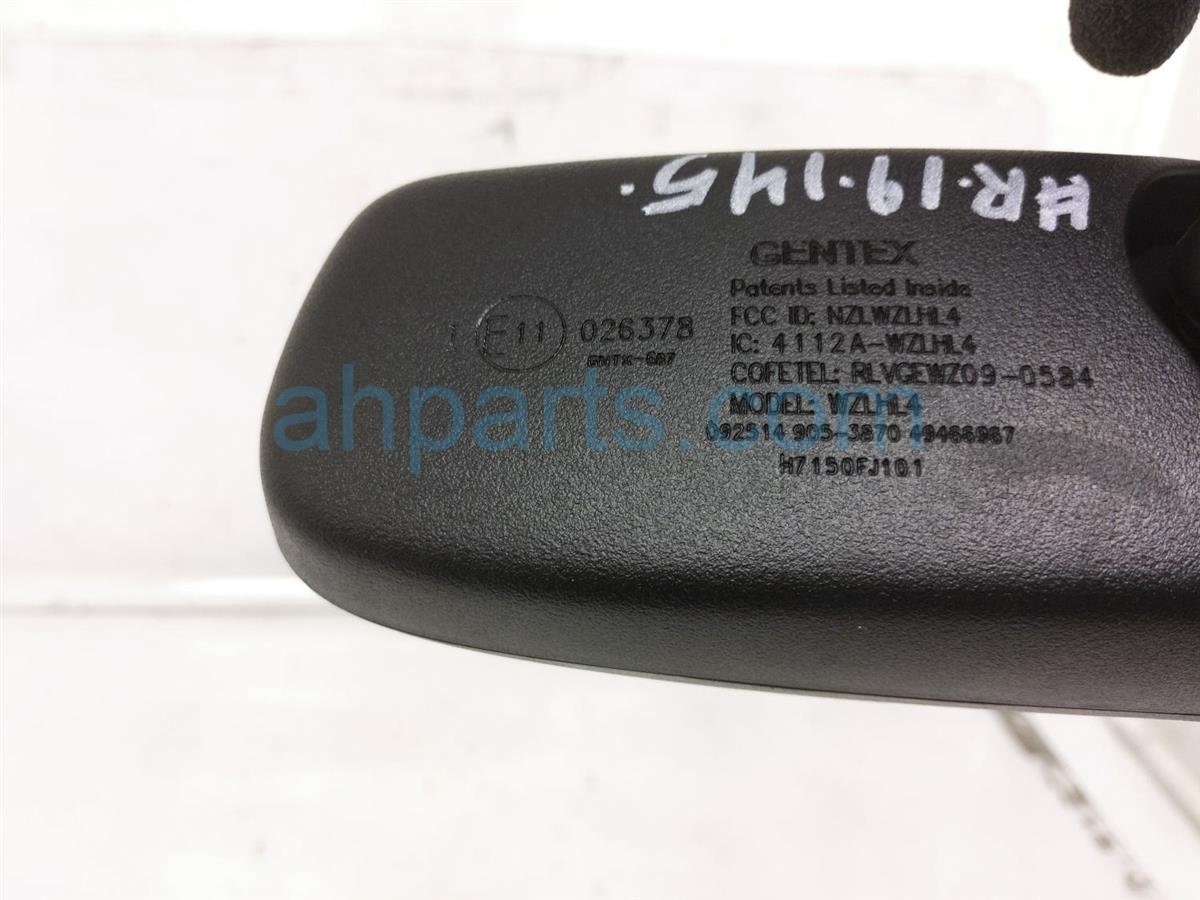 2014 Subaru Xv Crosstrek Interior Inside Rear View Mirror W/ Garage Opener H7150FJ101 Replacement