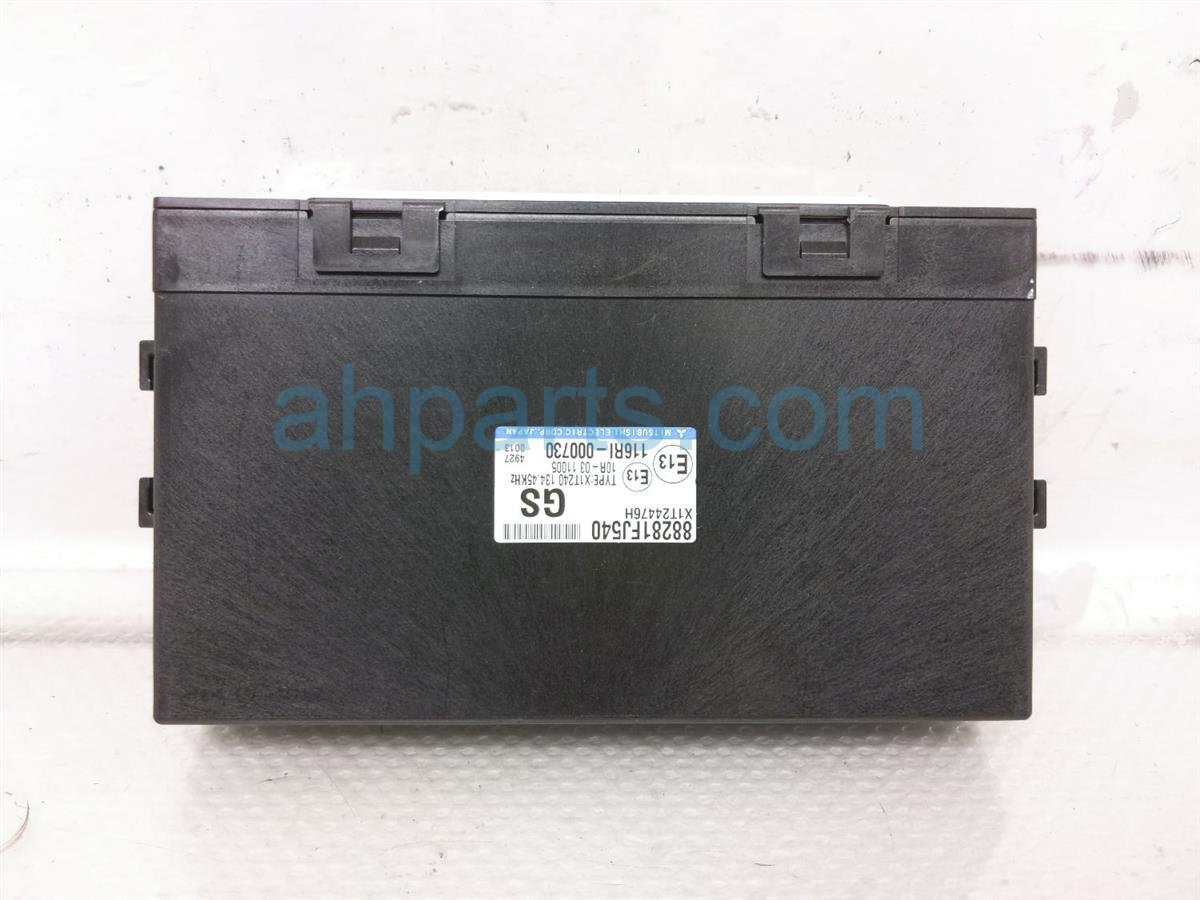 2014 Subaru Xv Crosstrek Integrated Control Unit 88281FJ540 Replacement