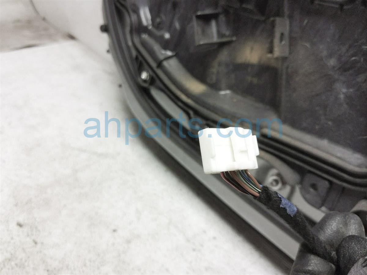 2012 Mazda Miata Front Driver Door   Silver   No Mirror / Panel NEY1 59 02XH Replacement