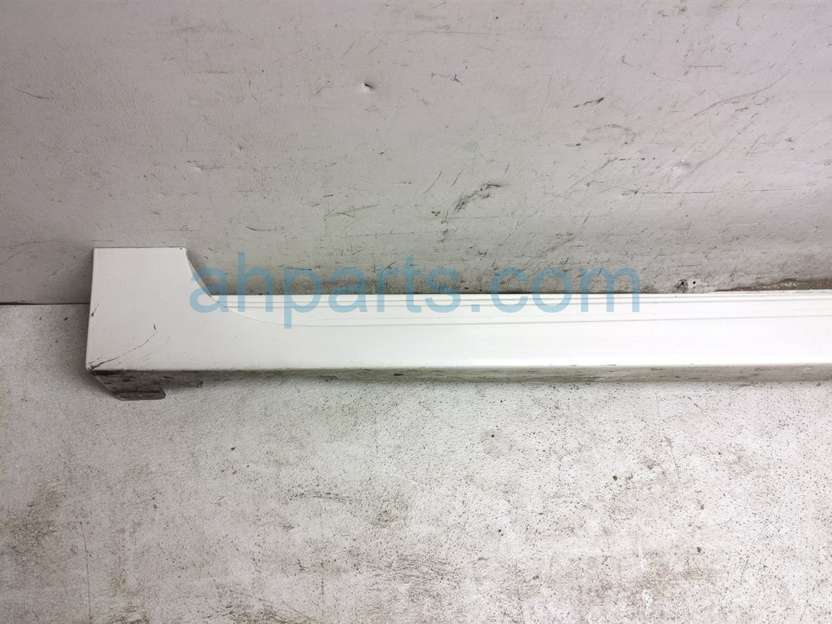 2013 Nissan Altima Rocker Molding / Trim Driver Side Skirt   White 76853 3TA1H Replacement