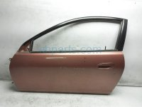 $150 Acura LH DOOR  - ORANGE - SHELL ONLY  -NIQ