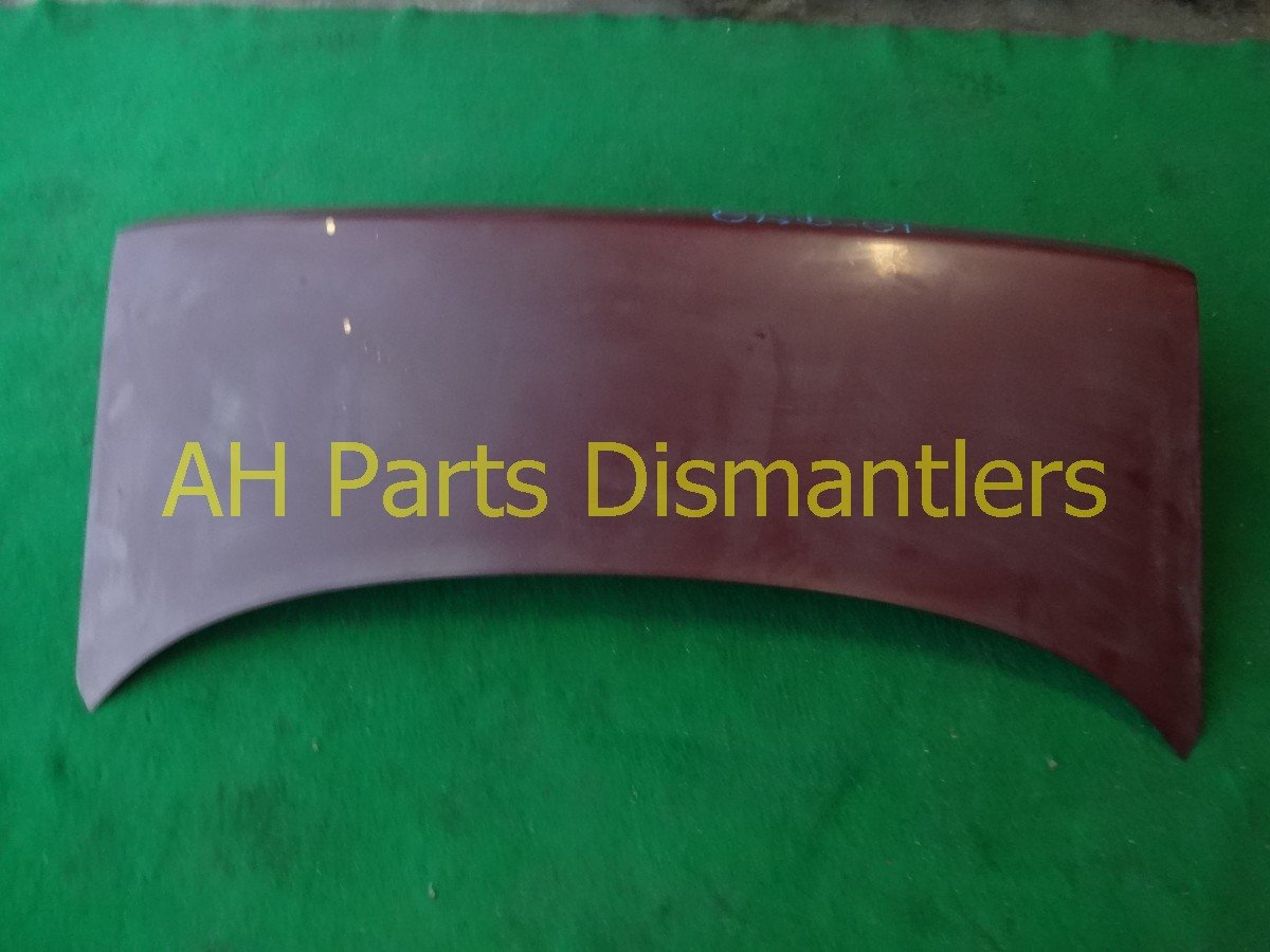1992 Honda Accord Trunk DECK LID BURGANDY OXIDIZED 68500 SM2 A00ZZ 68500SM2A00ZZ Replacement