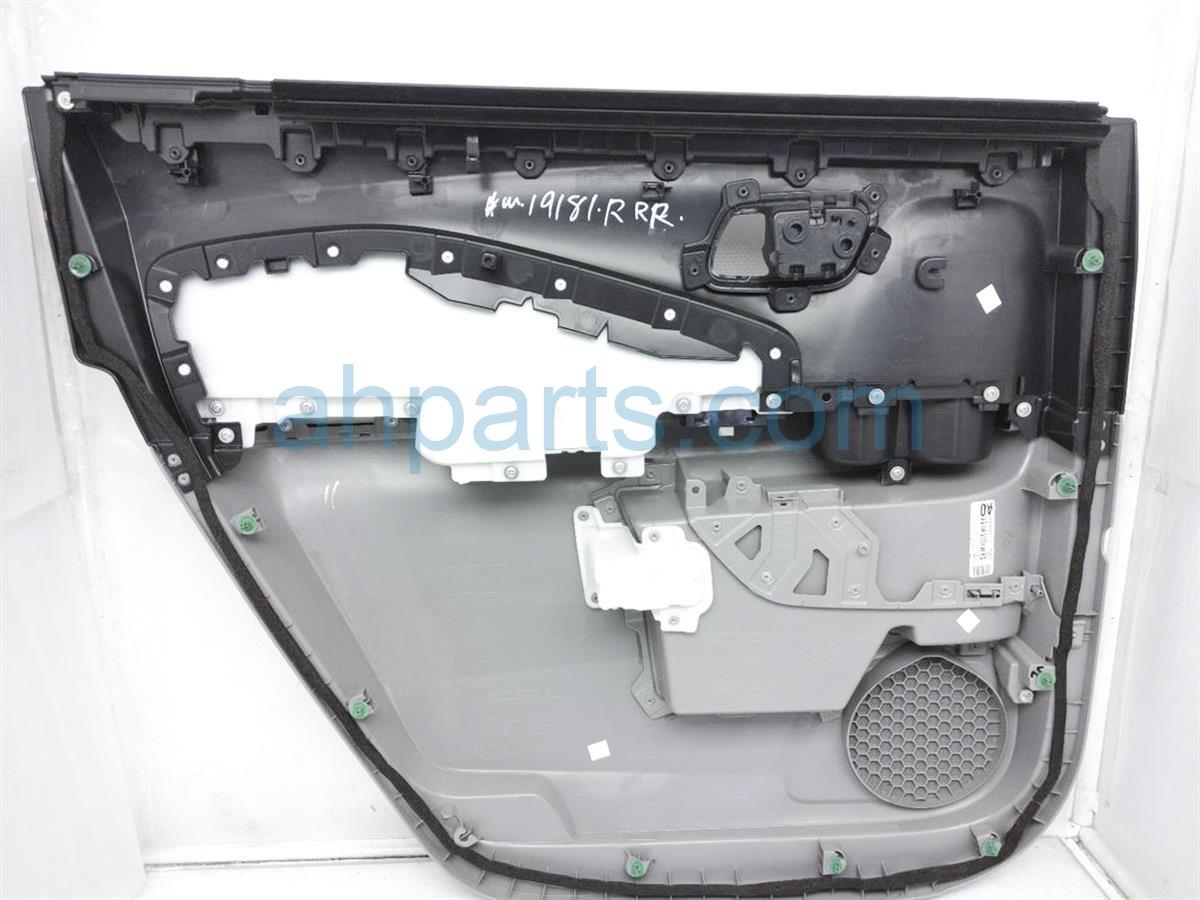 2016 Honda Pilot Trim Liner Rear Passenger Interior Door Panel   Grey/blk 83701 TG7 A01ZC Replacement