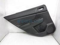 $100 Subaru RR/L INTERIOR DOOR PANEL - BLACK