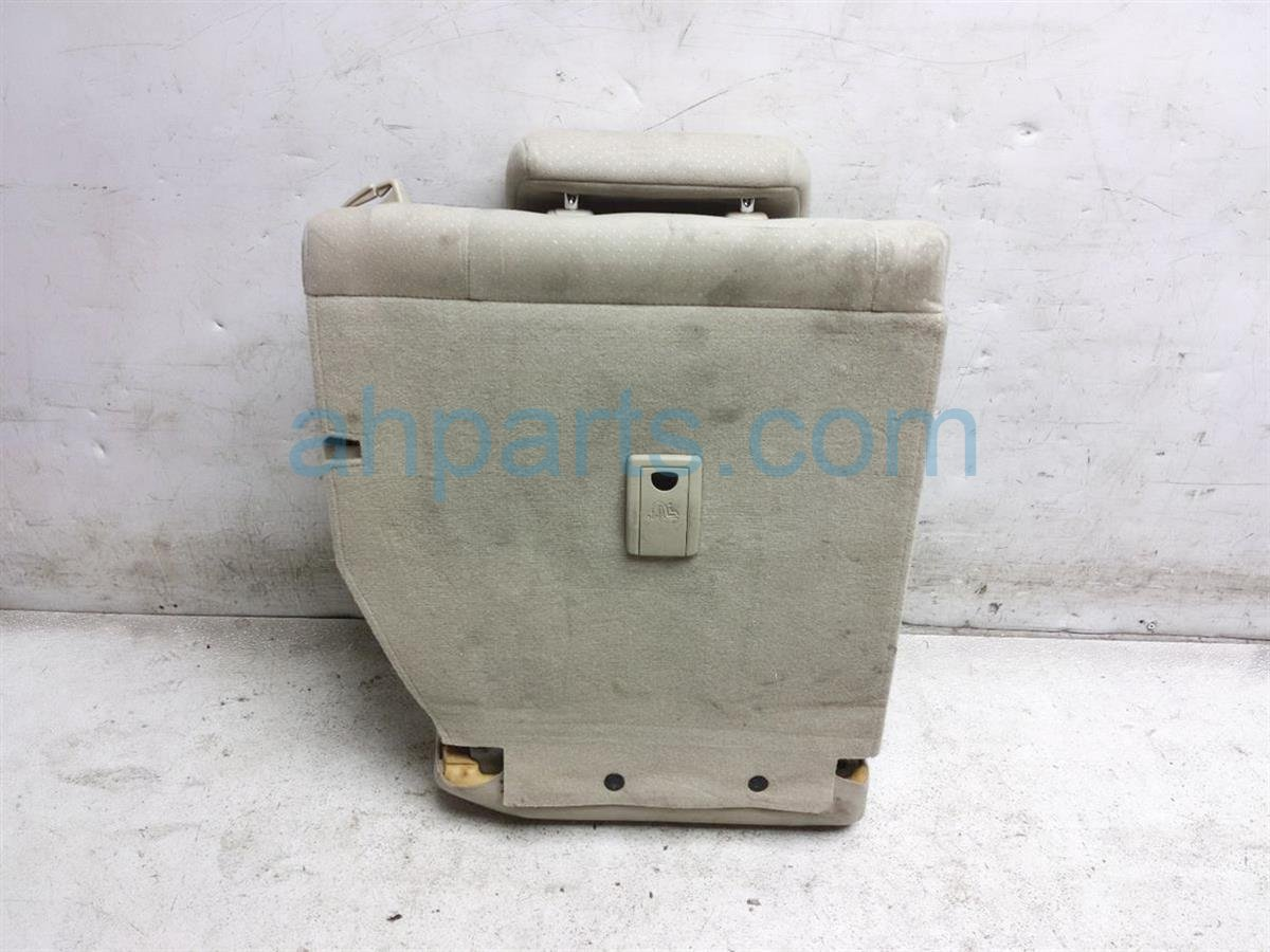 2005 Toyota Prius Back (2nd Row) Rear Driver Seat Upper Portion   Tan 71078 47070 A1 Replacement