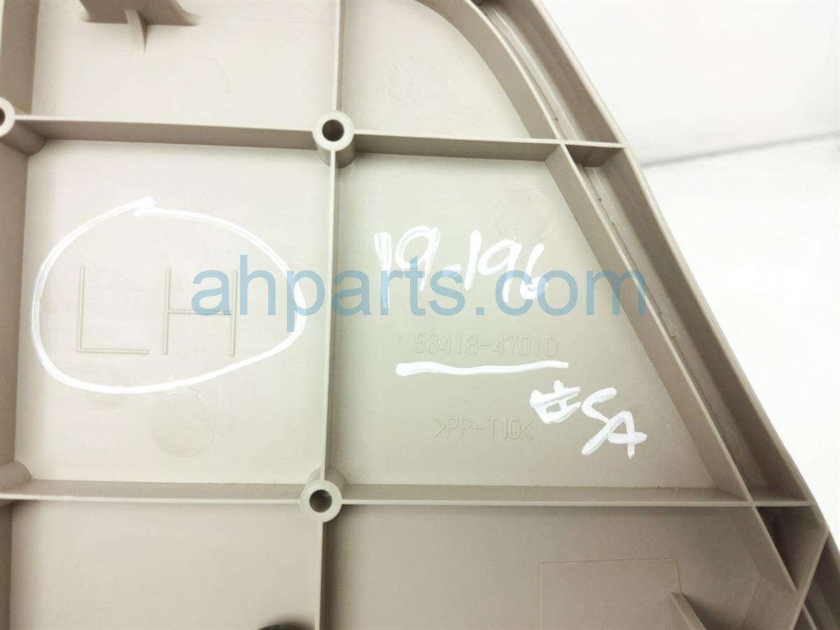 2005 Toyota Prius Rear Driver Floor Board   Tan 58418 47010 Replacement