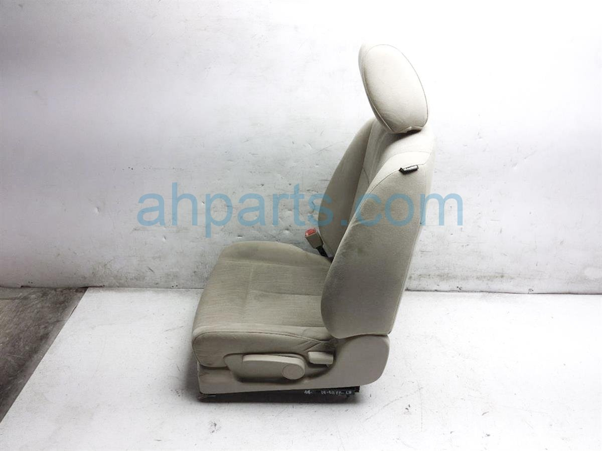 2012 Nissan Altima Front Driver Seat   Tan   Needs Cleaning 87650 ZX03C Replacement