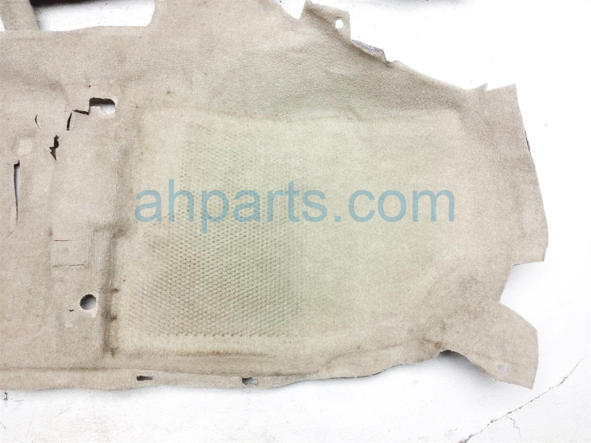 2005 Toyota Prius Front / Ground Floor Carpet   Tan 58510 47100 A0 Replacement