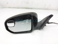 $90 Nissan LH SIDE VIEW MIRROR - RED - LIGHT SC
