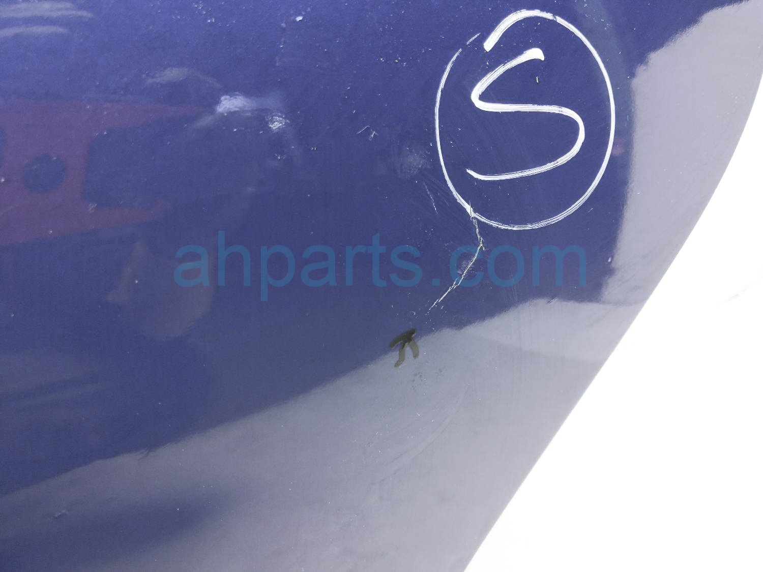 2008 Toyota Prius Rear Driver Door   Blue   Shell Only 67004 47060 Replacement