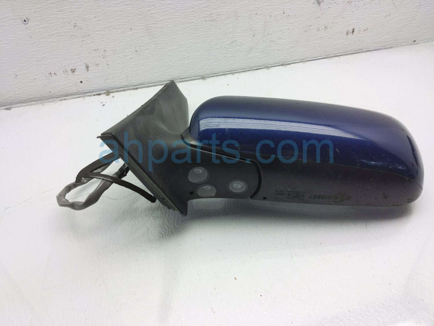 2008 Toyota Prius Rear Driver Side View Mirror   Blue   Scratch 87940 47101 Replacement
