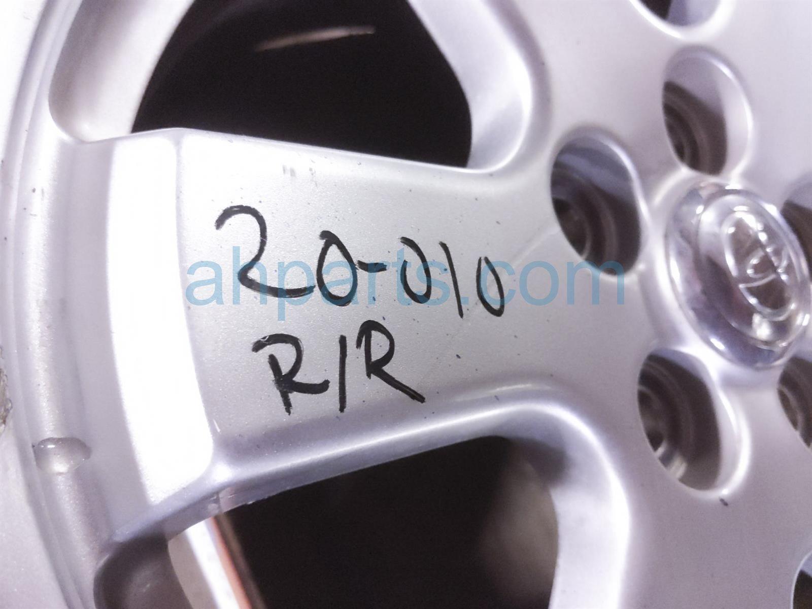 2008 Toyota Prius Rear Passenger Wheel/rim   Gouges 42611 47390 Replacement