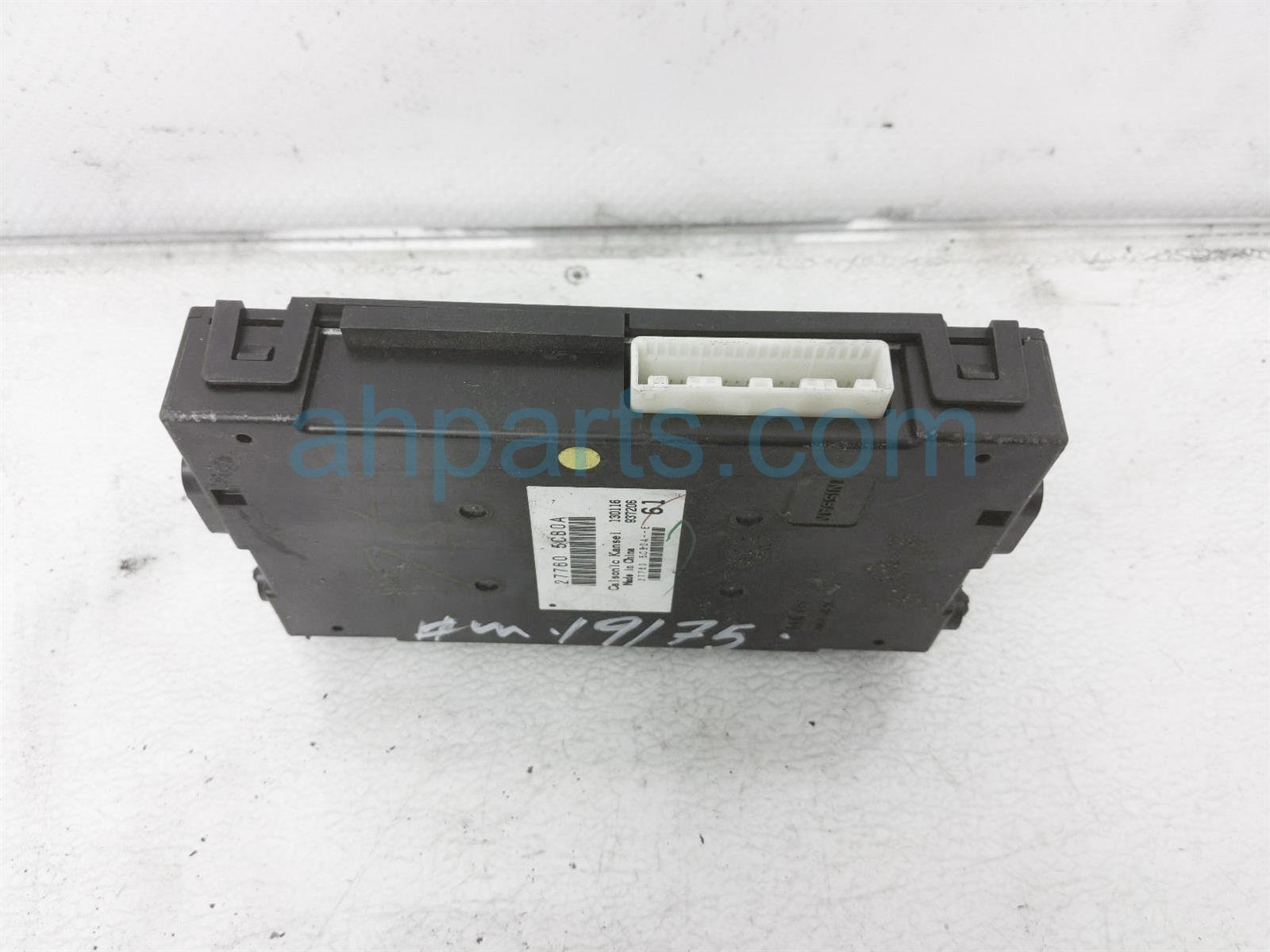 2016 Infiniti Q50 Air Amplifier Control Unit 27760 5CB0A Replacement