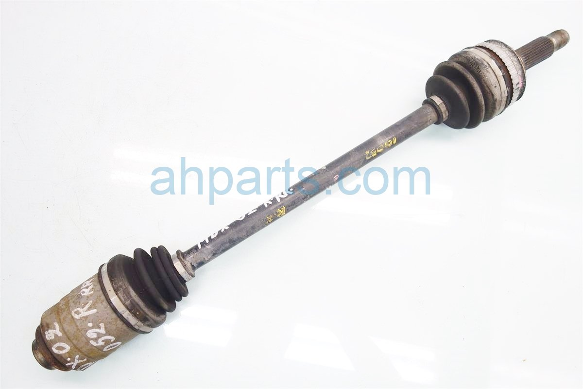 2002 Acura MDX Rear passenger AXLE Replacement