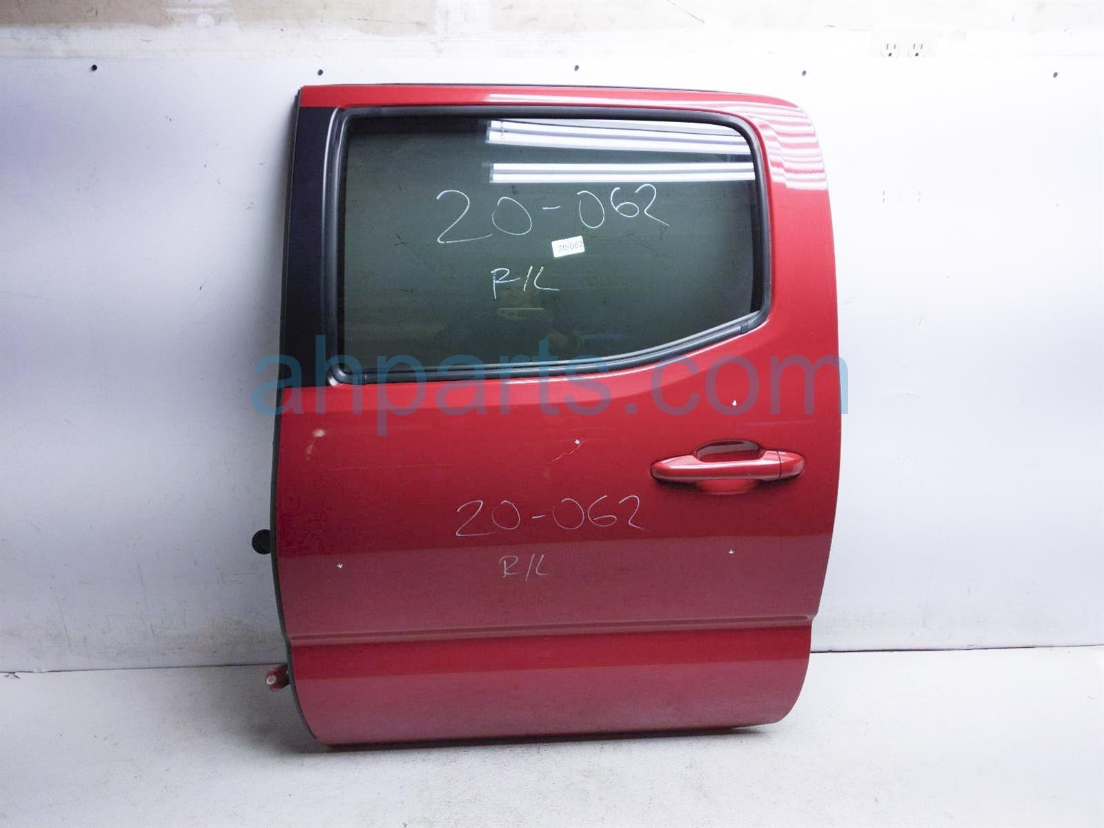 2017 Toyota Tacoma Rear Driver Door   Red   No Inside Panel 67004 04120 Replacement