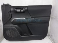 $195 Toyota FR/RH INTERIOR DOOR PANEL - BLACK