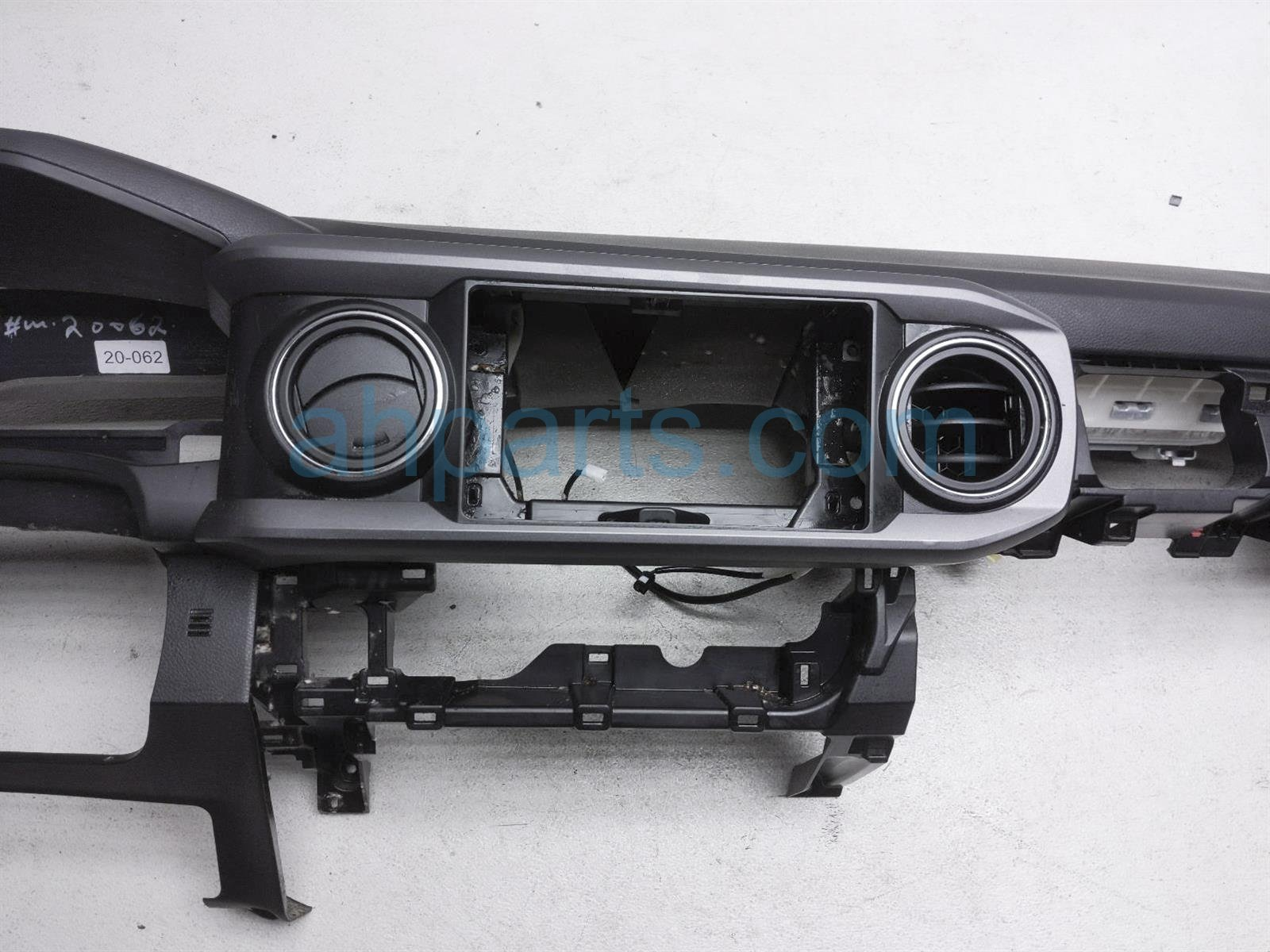 2017 Toyota Tacoma Dashboard W/ Airbag Black 55301 04080 C0 Replacement