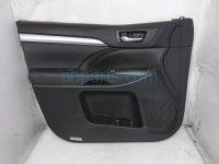 $180 Toyota FR/LH INTERIOR DOOR PANEL - BLACK -