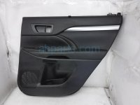 $125 Toyota RR/RH INTERIOR DOOR PANEL - BLACK